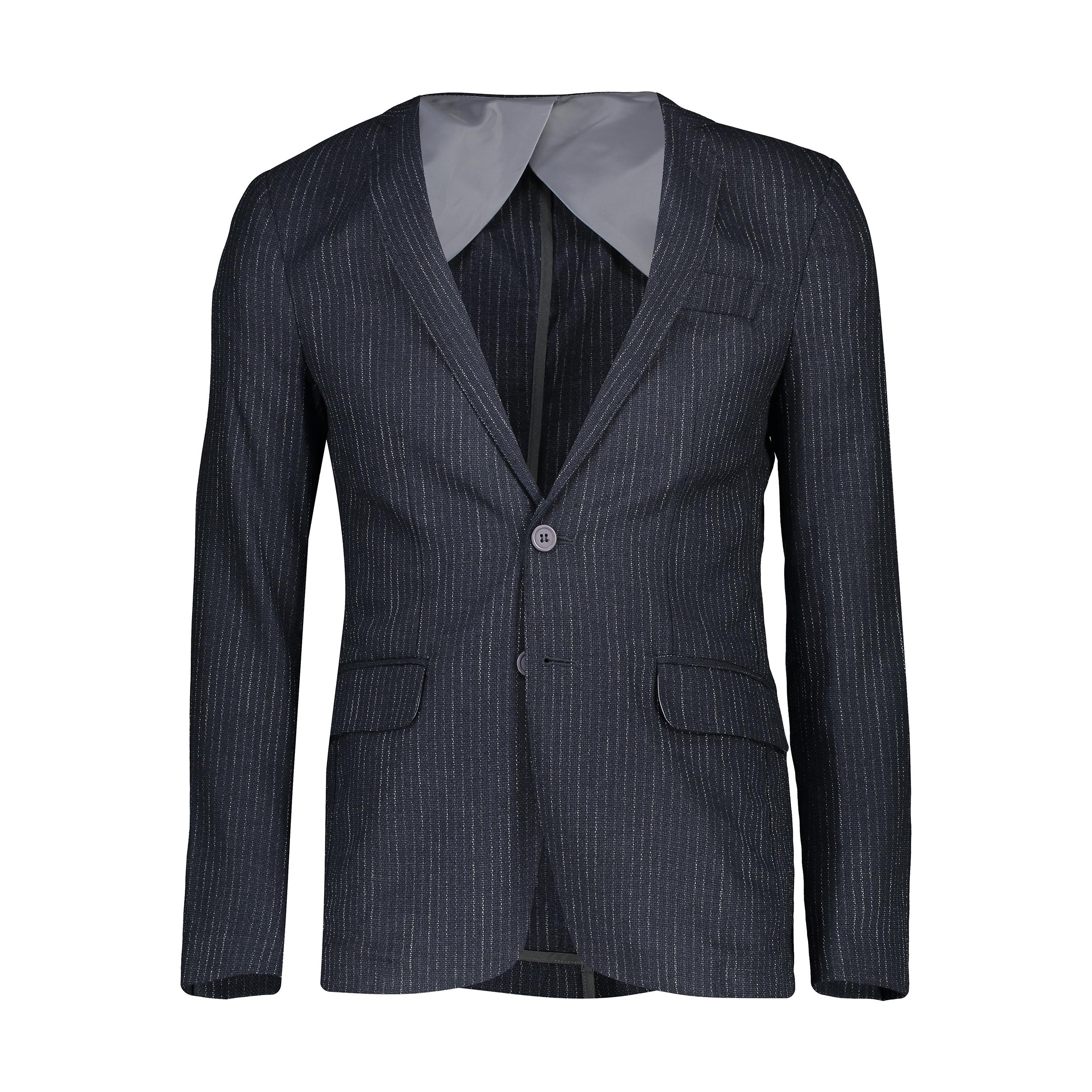 کت تک مردانه ادورا مدل 0215130  رنگ دودی