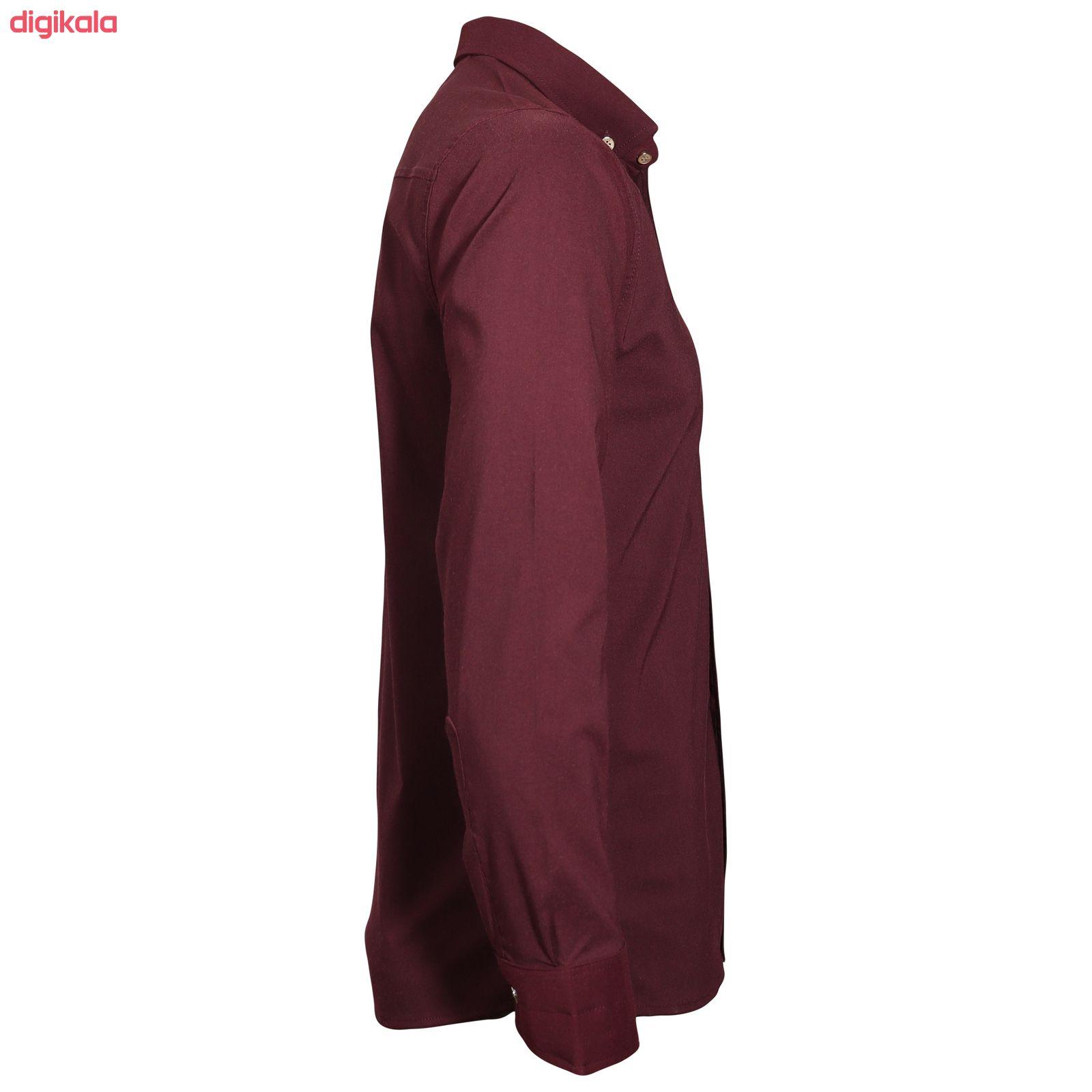 پیراهن آستین بلند مردانه مدل zk10023 main 1 1