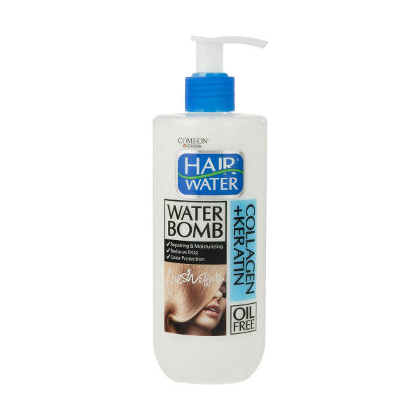 کرم آبرسان مو کامان مدل Collagen Hair Water حجم 400 میلی لیتر