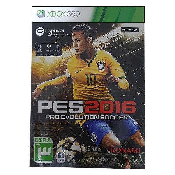 بررسی و {خرید با تخفیف}                                     بازی PES 2016 مخصوص Xbox 360                             اصل
