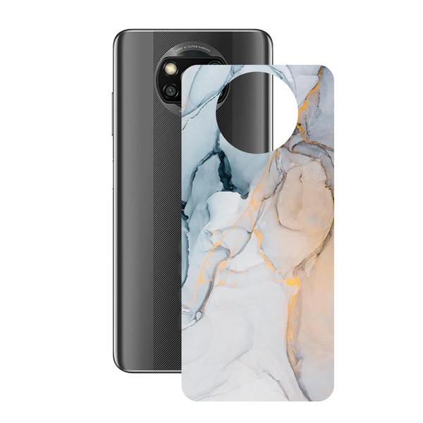 برچسب پوششی راک اسپیس طرح Marble-GD مناسب برای گوشی موبایل  شیائومی POCO X3 Pro