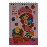 دفترچه یادداشت 60 برگ سیناکو طرح Strawberry مدل N-SD-T thumb