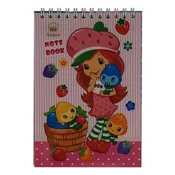 دفترچه یادداشت 60 برگ سیناکو طرح Strawberry مدل N-SD-T