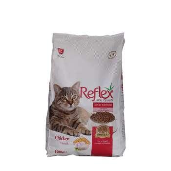 غذای خشک گربه رفلکس مدل chicken وزن 1.5 کیلوگرم