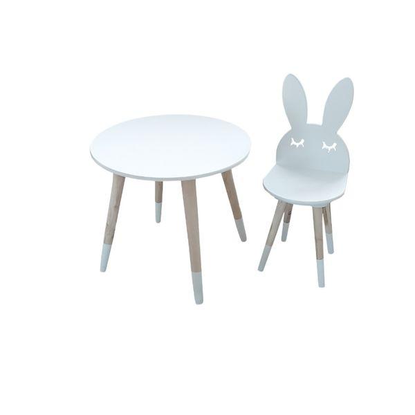 ست میز و صندلی کودک مدل خرگوش