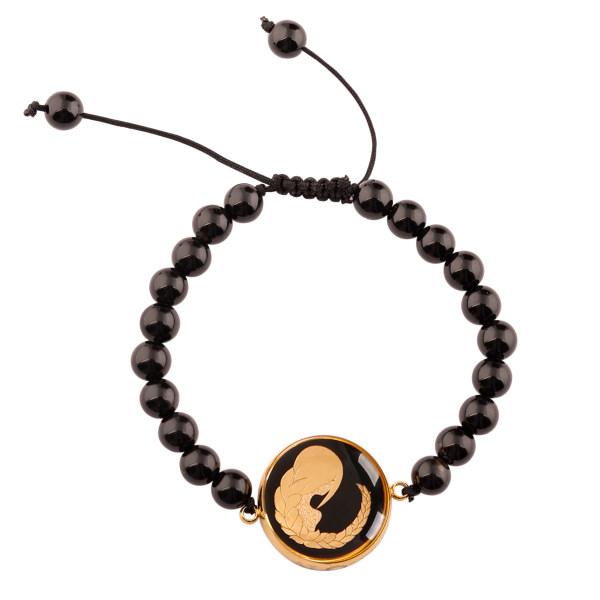 دستبند زنانه الون طرح ماه شهریور کد ONI101