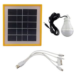 سیستم روشنایی خورشیدی هونگ تای مدل HT-3889 کدN996
