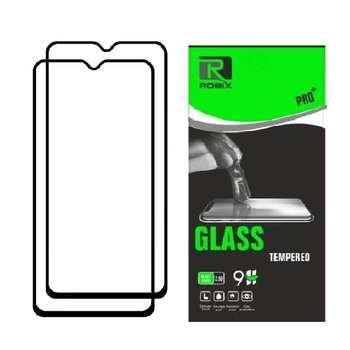 محافظ صفحه نمایش روبیکس مدل FLمناسب برای گوشی موبایل سامسونگ Galaxy A70 بسته دو عددی