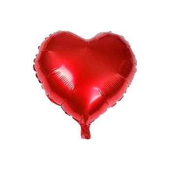بادکنک فویلی طرح قلب کد 18