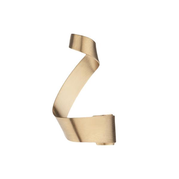 آویز گردنبند طلا 18 عیار زنانه سنجاق مدل X091715