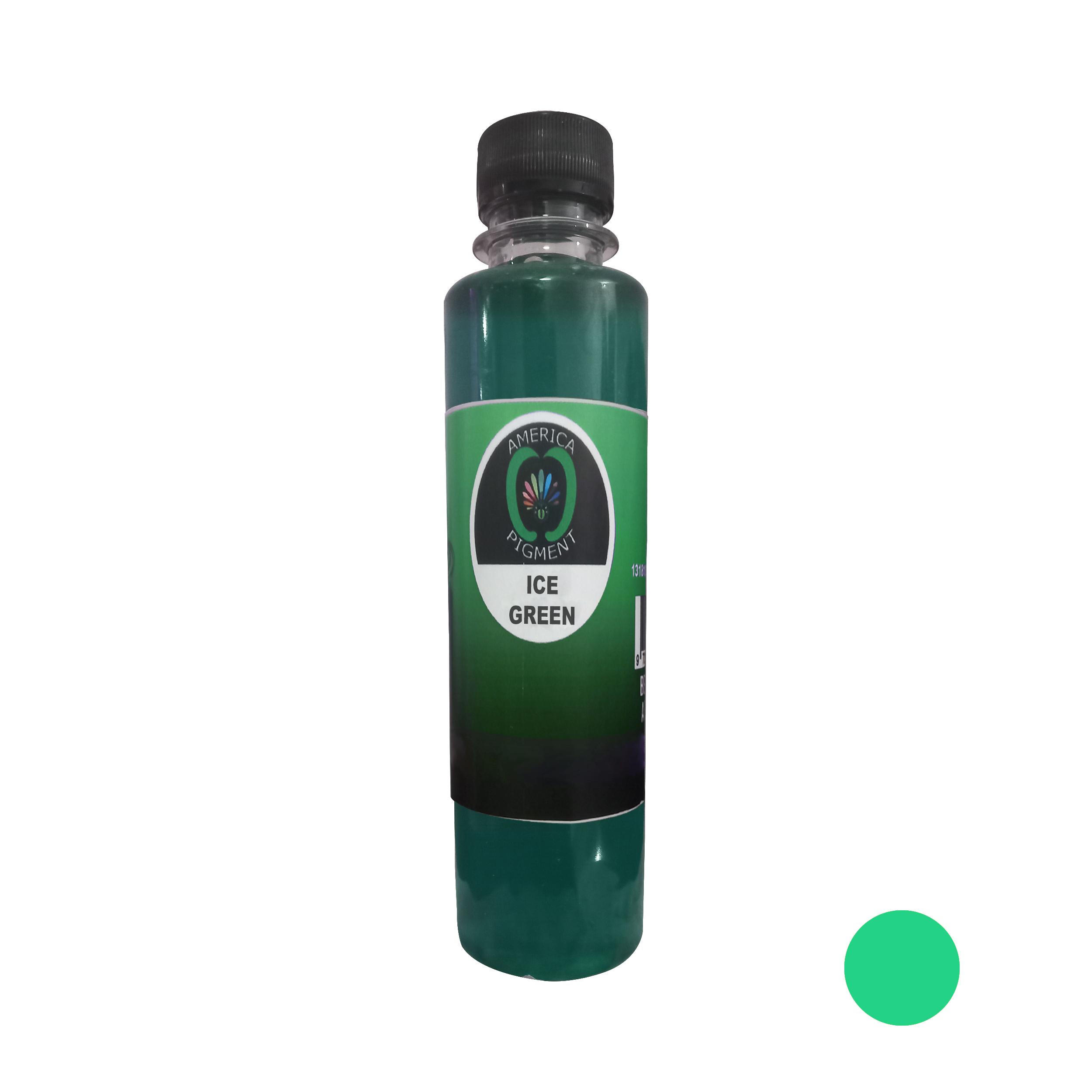 لیکویید رنگ مو آمریکاپیگمنت شماره 007 حجم 250 میلی لیتر رنگ سبزیخی