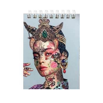 دفترچه یادداشت طرح دختر کد 01