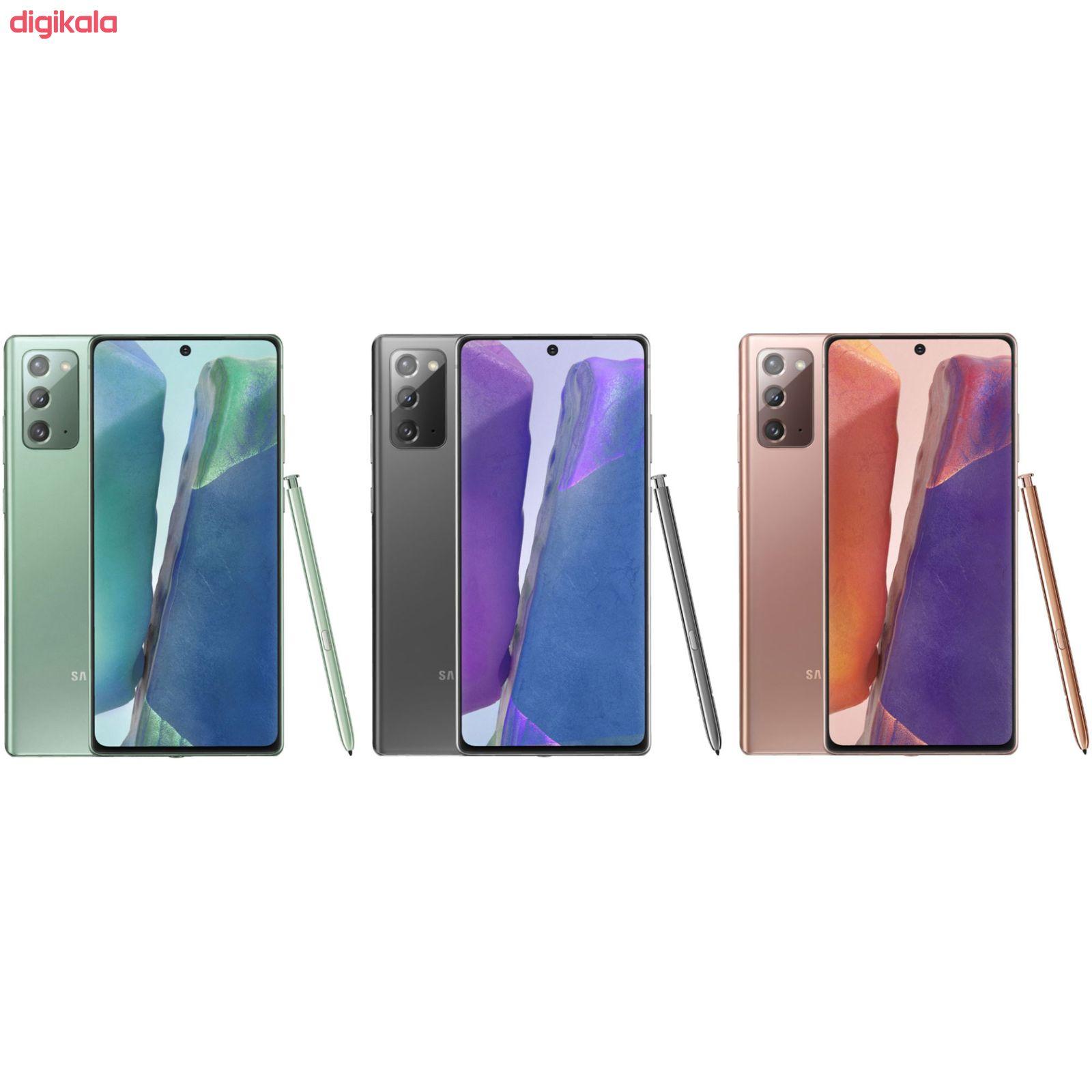 گوشی موبایل سامسونگ مدل Galaxy Note20 5G SM-N981B/DS دو سیم کارت ظرفیت 256 گیگابایت main 1 5