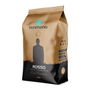 دانه قهوه اسپرسو روسو بن مانو - 1000 گرم