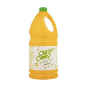 مایع سفید کننده با رایحه لیمو دیپ کلین وزن 3750 گرم