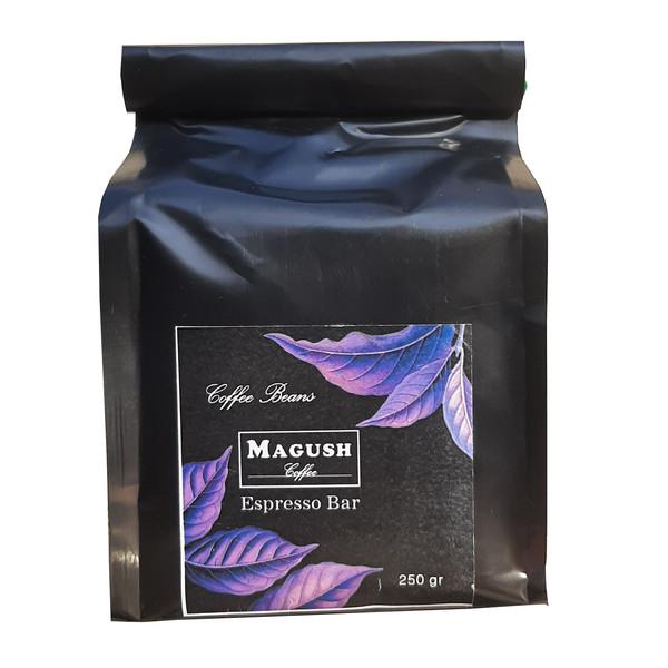 دانه قهوه اسپرسو بار ماگوش  - 250 گرم