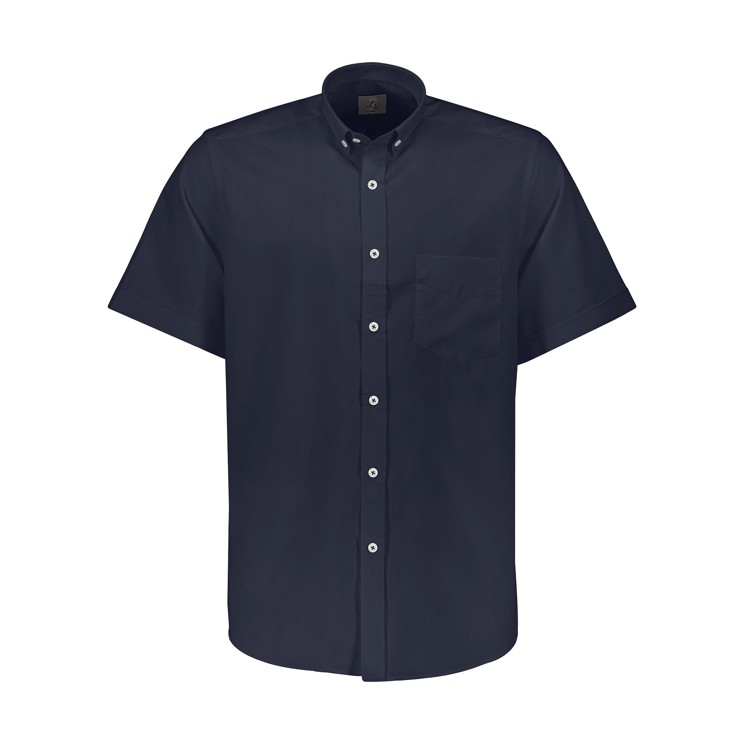 پیراهن آستین کوتاه مردانه زی مدل 153139359