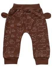 ست تی شرت و شلوار نوزادی طرح حیوانات کد FF-083  -  - 3