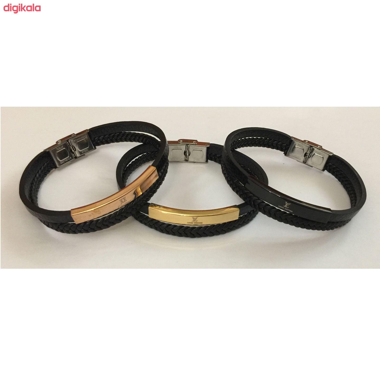 دستبند مردانه مدل H280 main 1 1