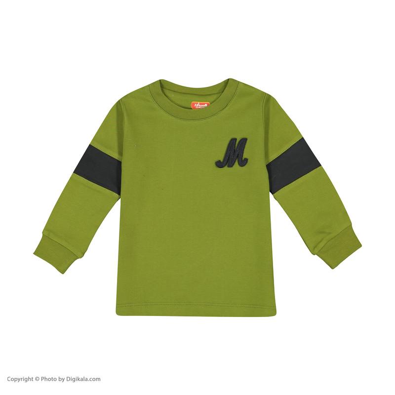 ست تی شرت و شلوار پسرانه مادر مدل 317-42