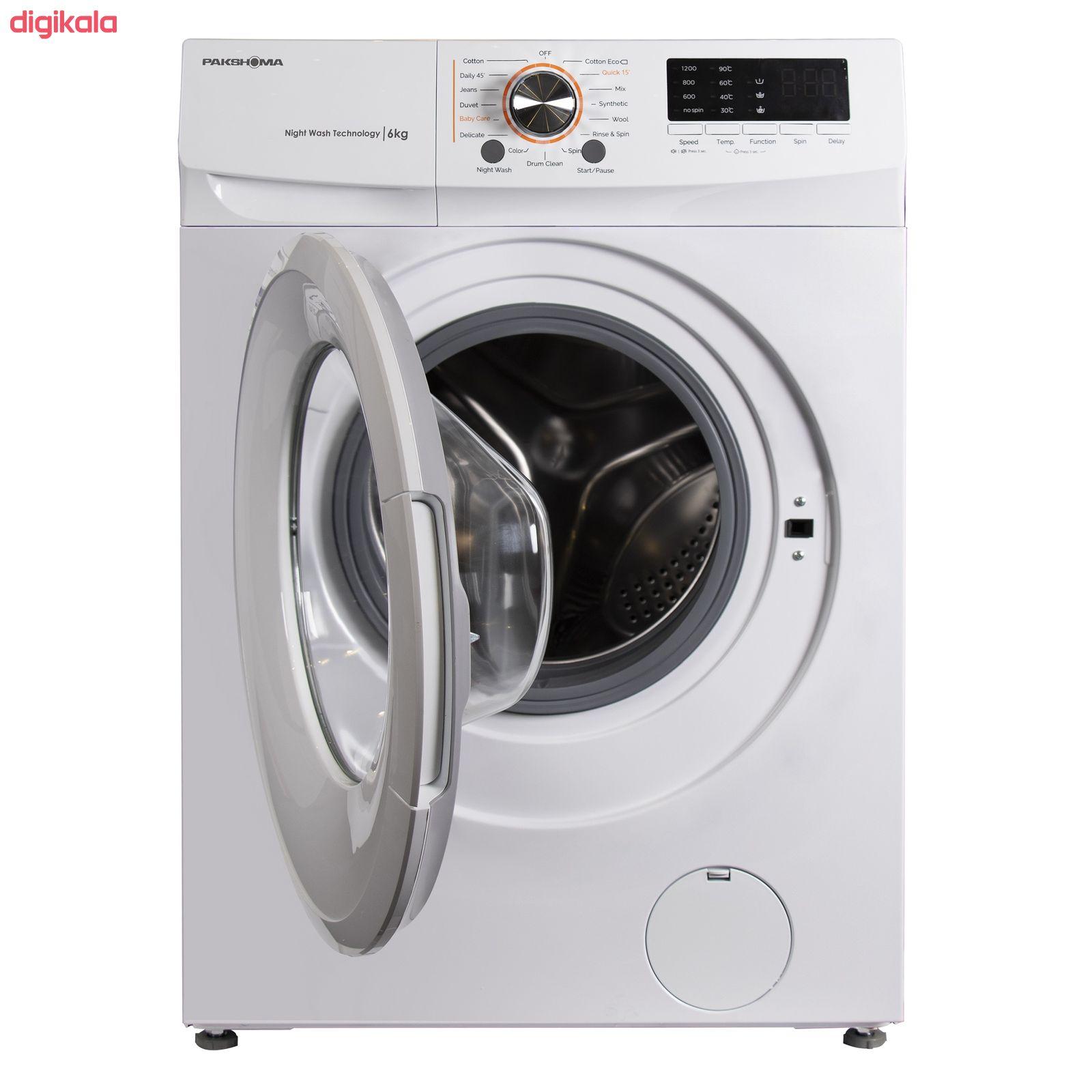 ماشین لباسشویی پاکشوما مدل TFU-63100 ظرفیت 6 کیلوگرم main 1 5
