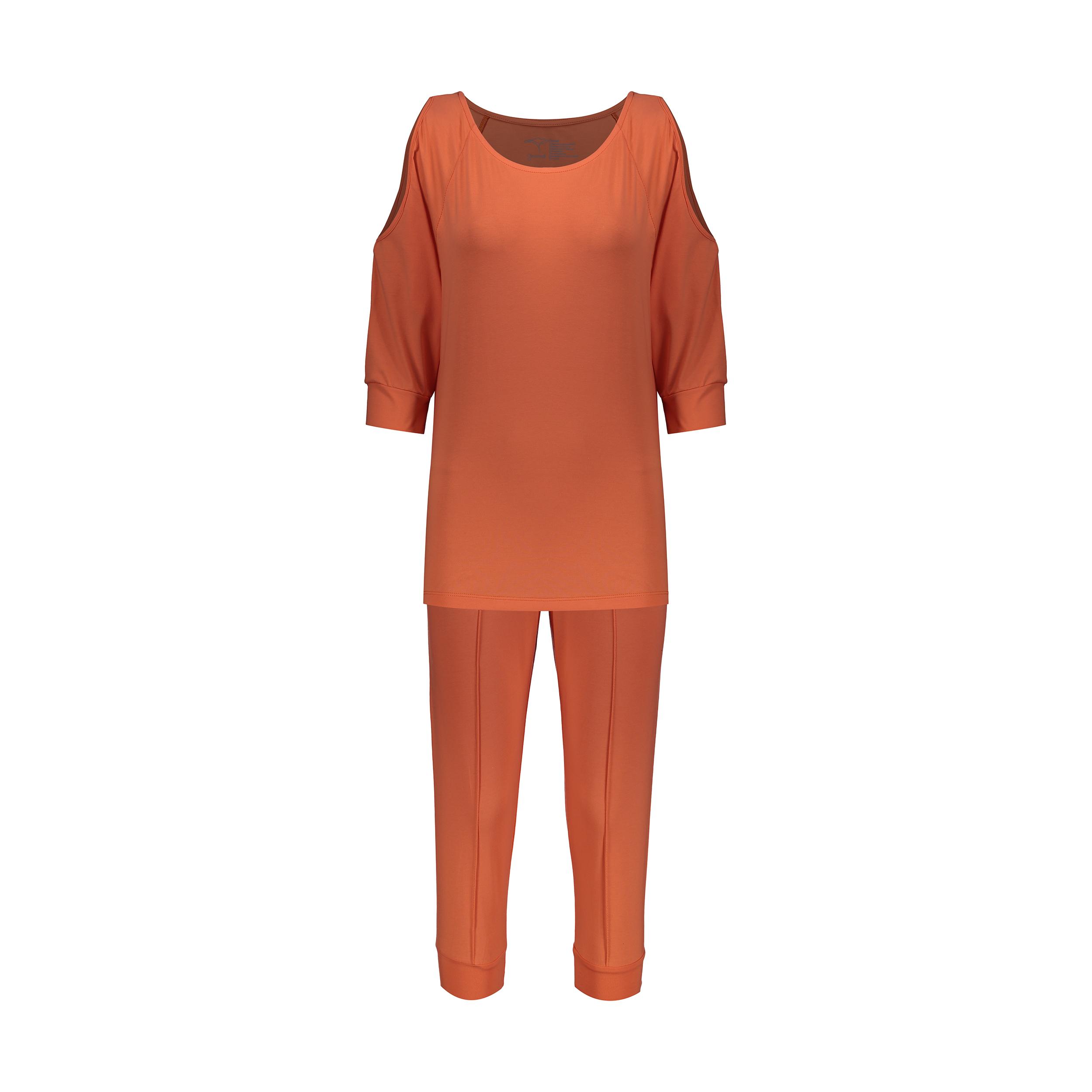 ست تی شرت و شلوارک زنانه گارودی مدل 1110307101-26