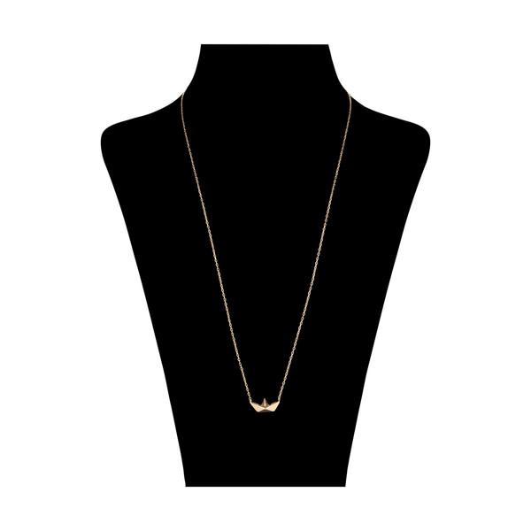گردنبند طلا 18 عیار زنانه مدیسا مدل N7005
