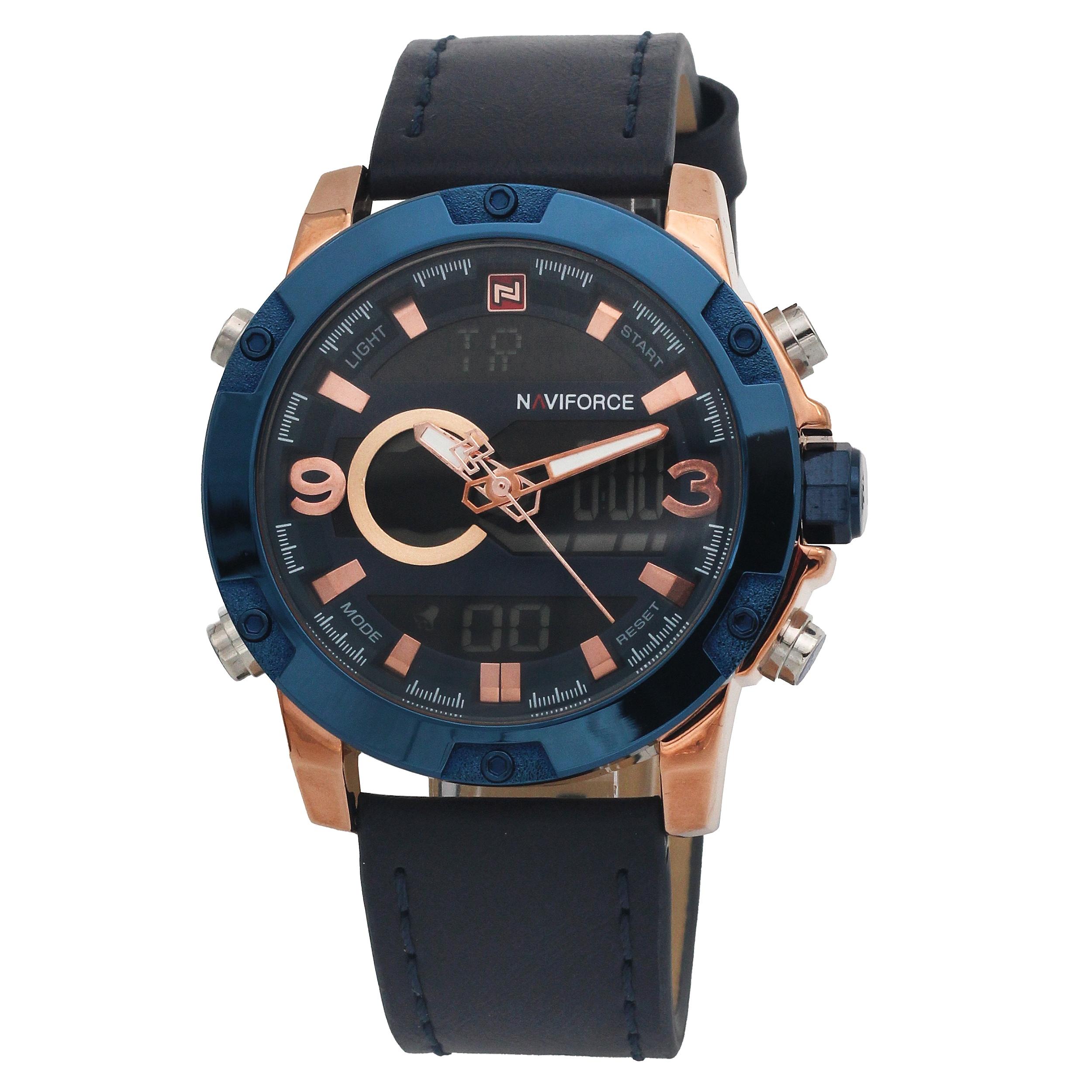 قیمت و خرید                      ساعت مچی عقربهای مردانه نیوی فورس مدل NF9097m