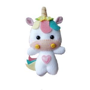 عروسک نمدی مدل اسب تک شاخ