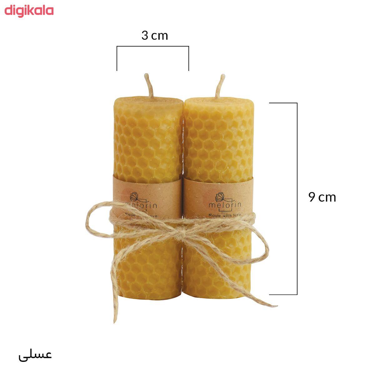 شمع ملورین کد M0010 بسته ۲ عددی main 1 4