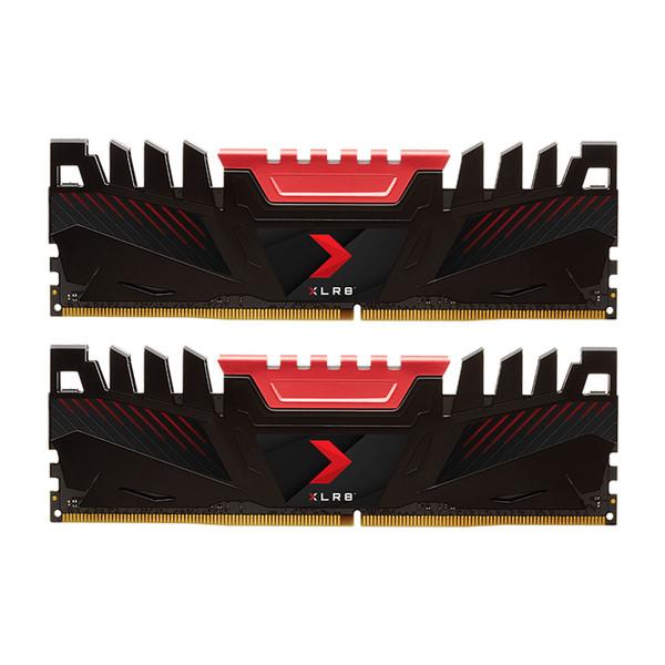 رم دسکتاپ DDR4 دو کاناله 3200 مگا هرتز CL16 پی اِن وای مدل XLR8 ظرفیت 16 گیگا بایت