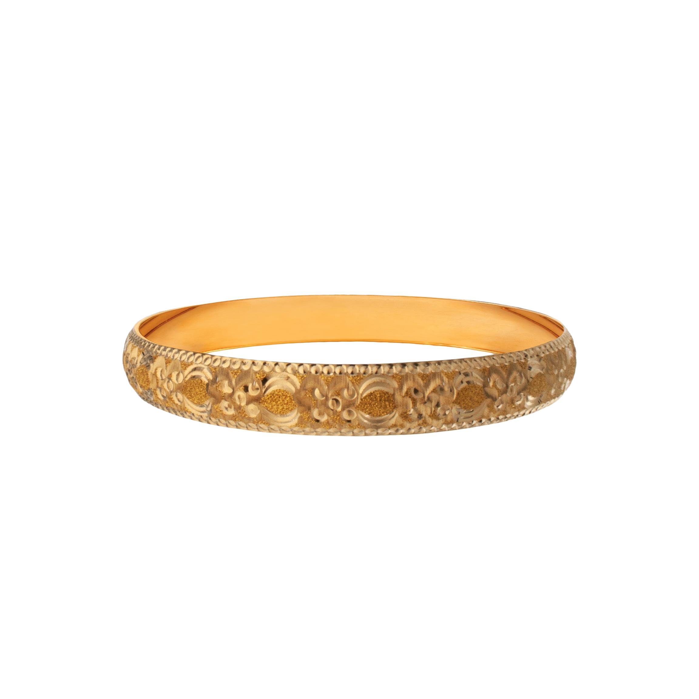 النگو طلا ۱۸ عیار زنانه دُرج مدل VB02-1