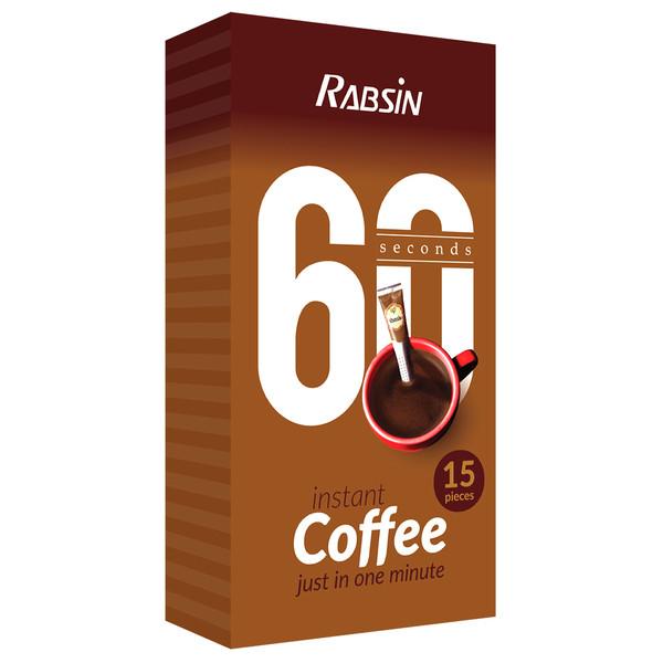 قهوه فوری رابسین بسته 15 عددی