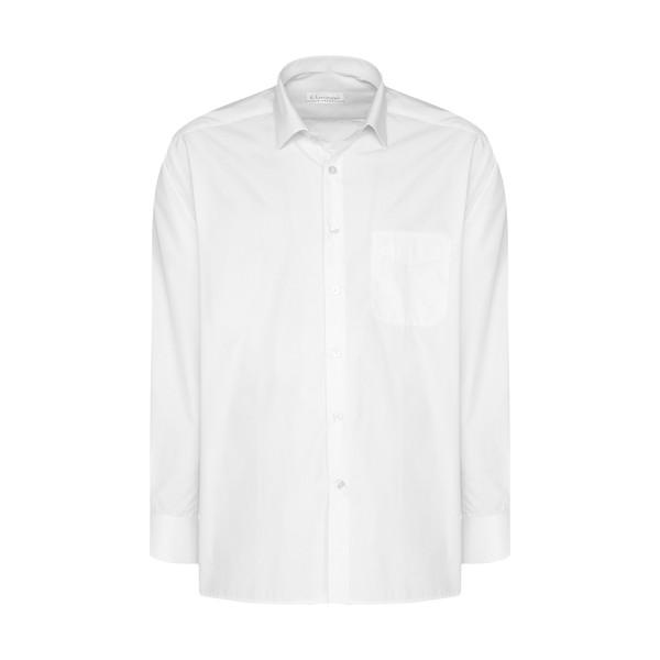 پیراهن مردانه اطمینان مدل 2000748-2 رنگ سفید