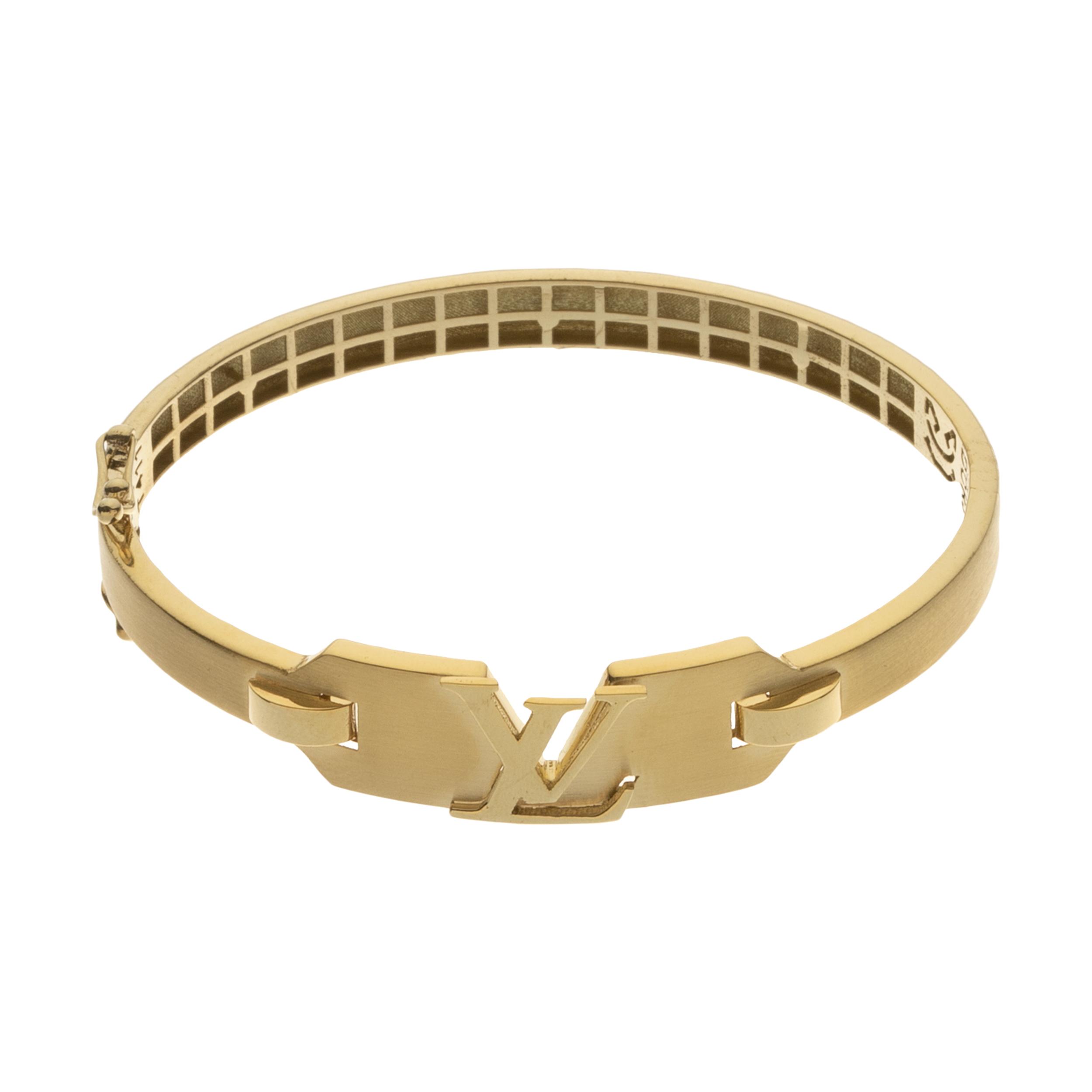 دستبند النگویی طلا 18 عیار زنانه مایا ماهک مدل MB1154