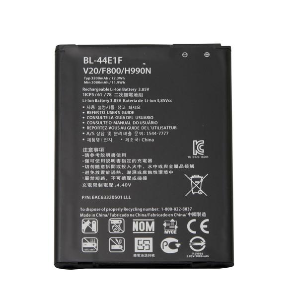 باتری موبایل مدل BL-44E1Fظرفیت 3200 میلی آمپر ساعت مناسب برای گوشی موبایل ال جی Stylus 3