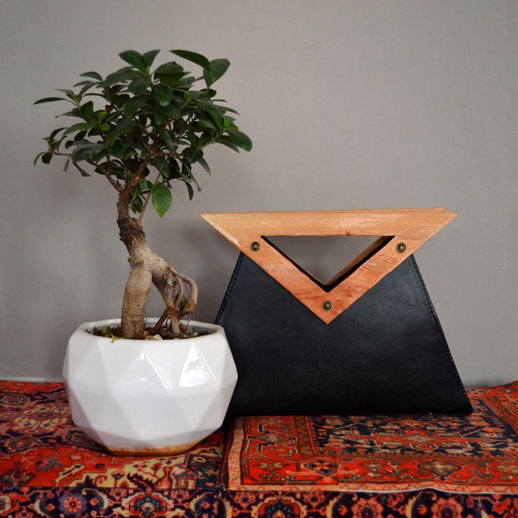 کیف زنانه دالاوین مدل دسته چوبی -  - 9