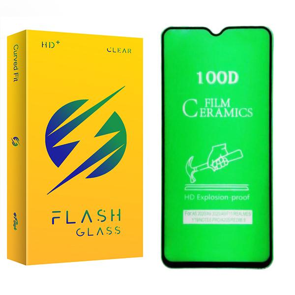 محافظ صفحه نمایش سرامیکی فلش مدل +HD مناسب برای گوشی موبایل سامسونگ Galaxy A30/ A30s / A31
