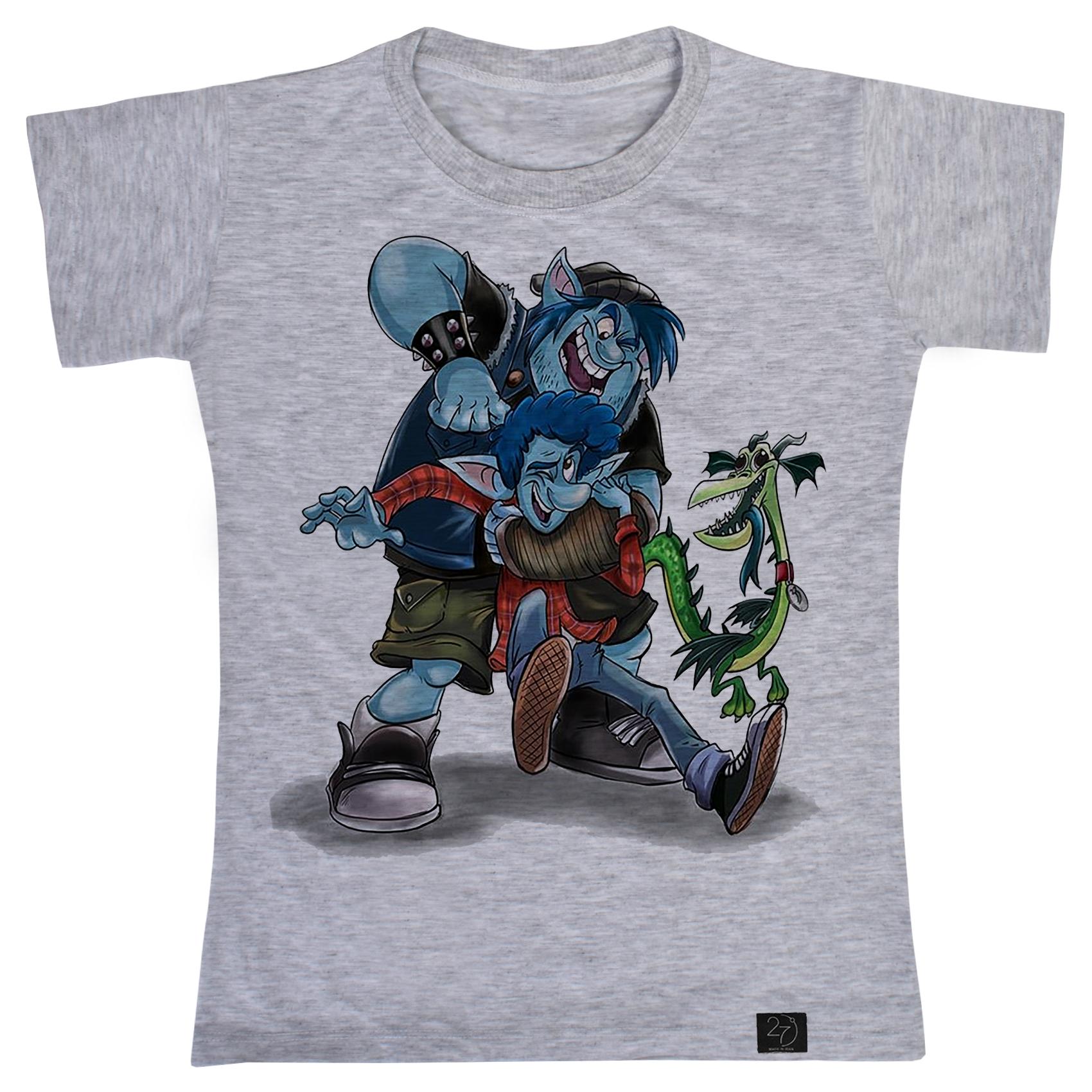 تی شرت پسرانه 27 طرح Onward کد B18