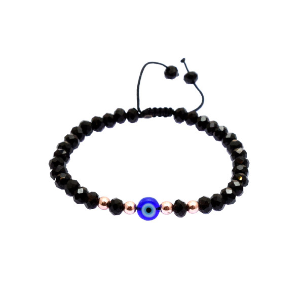 دستبند زنانه مدل چشم نظر B6