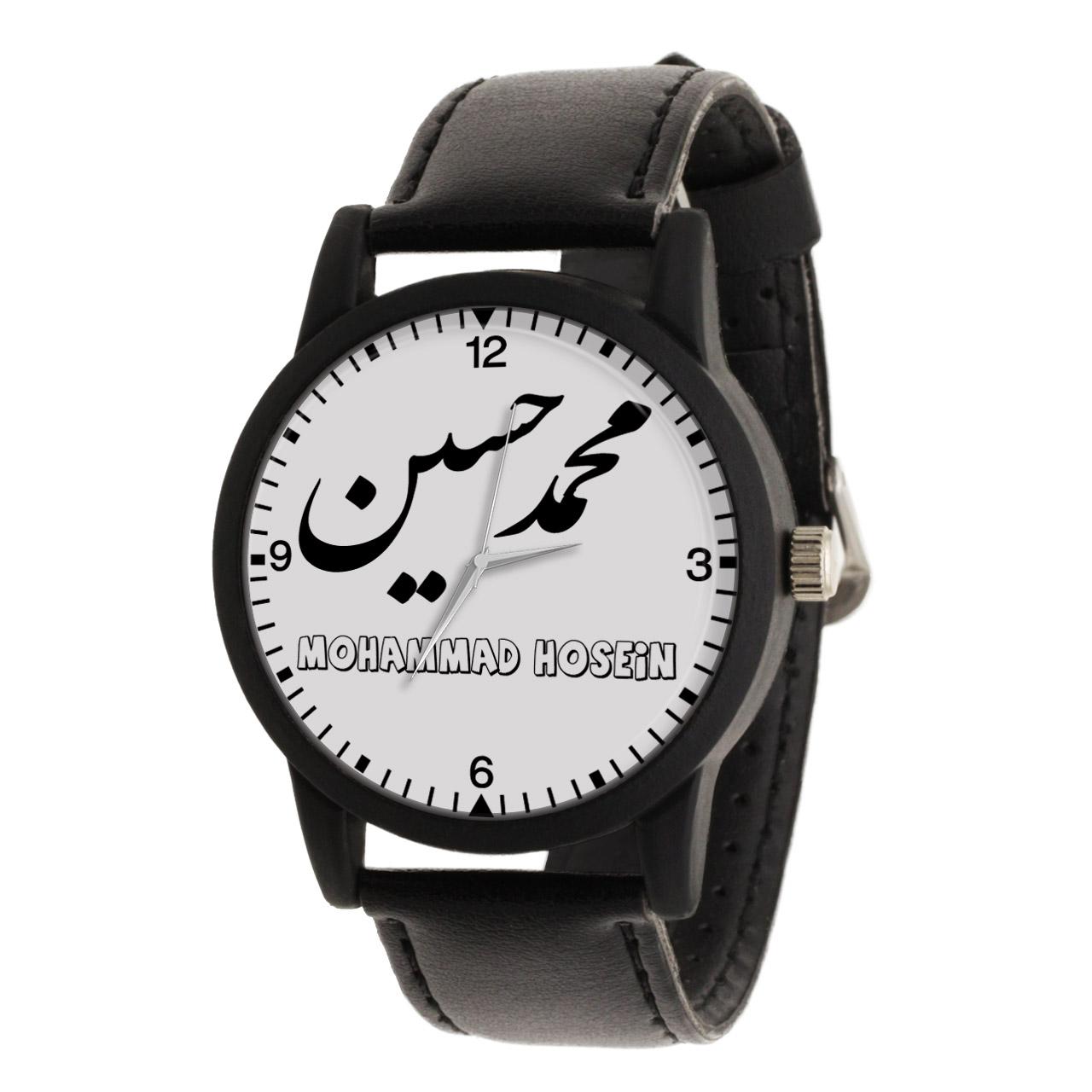 قیمت                      ساعت مچی عقربه ای مردانه طرح محمد حسین کد LF3038