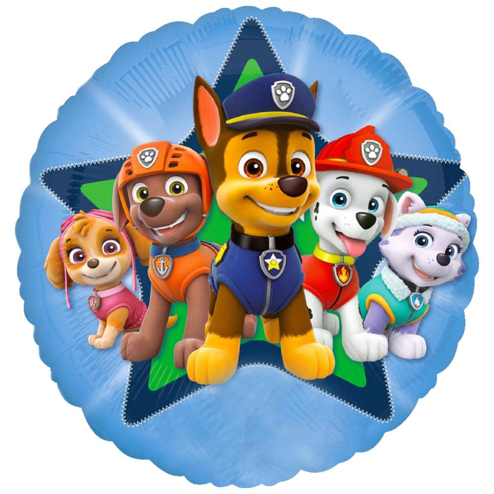 استیکر فراگراف FG طرح سگ های نگهبان کد paw patrol 014