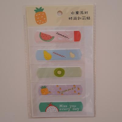 چسب زخم طرح میوه کد S-2 بسته 5 عددی