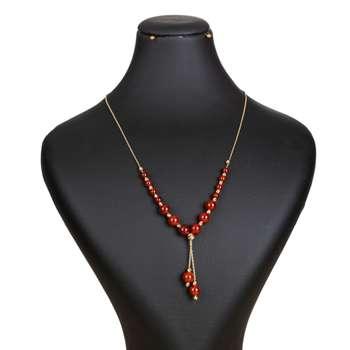 گردنبند طلا 18 عیار زنانه گالری یارطلا کد GL01