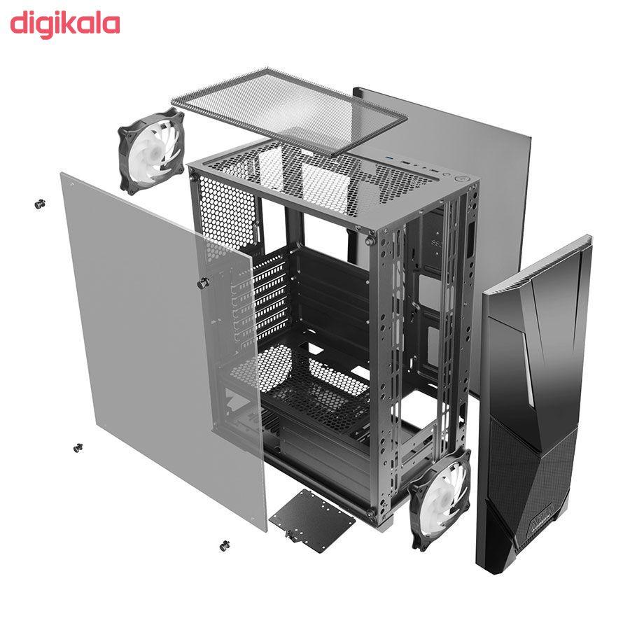 کیس کامپیوتر گرین مدل Aria main 1 4