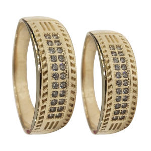ست انگشترزنانه و مردانه سلین کالا مدل طلا کد ce-As28