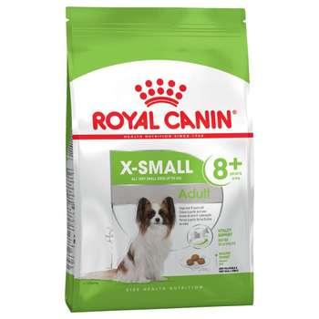 غذای خشک سگ رویال کنین مدل 8+ X-Small  وزن 1.5 کیلوگرم