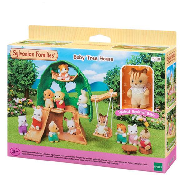 اسباب بازی سیلوانیان فامیلیز مدل خانه سبز درختی کد 1853