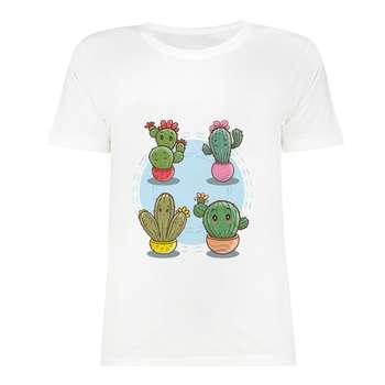 تی شرت آستین کوتاه دخترانه مدل SK991028-013