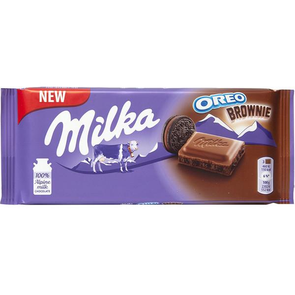 شکلات شیری شکلاتی اورئو میلکا - 100 گرم